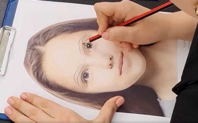 Как нарисовать брови в татуаже. Практика