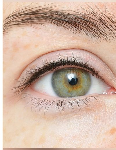 межресничный татуаж века глаз студия татуажа ани дубовик краснодар DUBOVIK межресничка