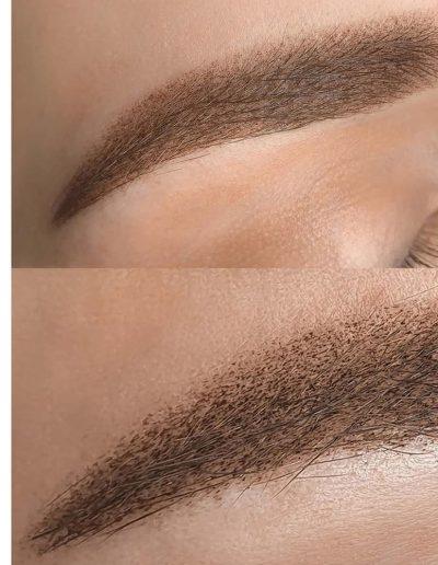 брови татуаж пудровое напыление бровей студия Ани Дубовик DUBOVIK1