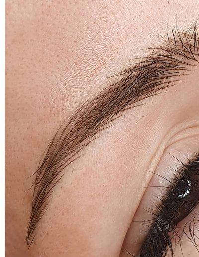 брови татуаж волосковая техника студия Ани Дубовик DUBOVIK6